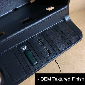 E36 Quick Charge USB Port