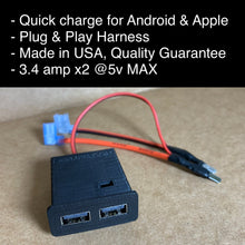 Load image into Gallery viewer, E36 Quick Charge USB Port