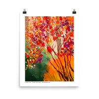 Confetti Tree  -  Digital Original Print