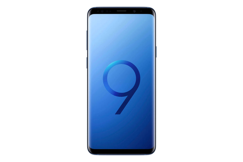 Samsung Galaxy S9+ -256GB - Coral Blue - Excellent
