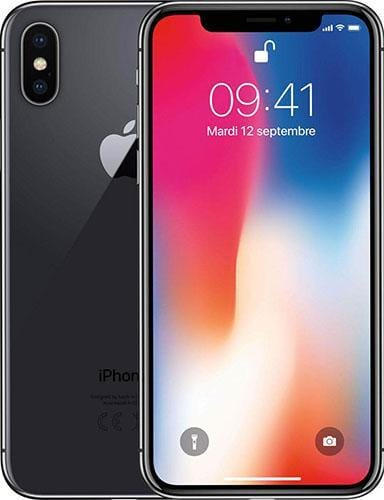 iPhone X 64 GB Space Grey As New