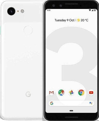 Google Pixel 3 -64GB - Clearly White - Good