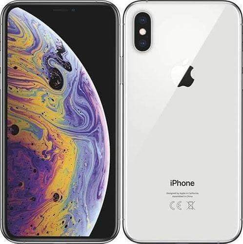 Apple iPhone XS MAX -64GB - Silver - Excellent