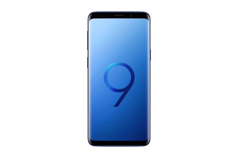 Samsung Galaxy S9 -64GB - Coral Blue - As New
