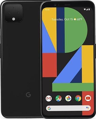 Google Pixel 4 XL -128GB - Just Black - As New