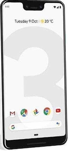 Google Pixel 3 XL -128GB - Clearly White - Good