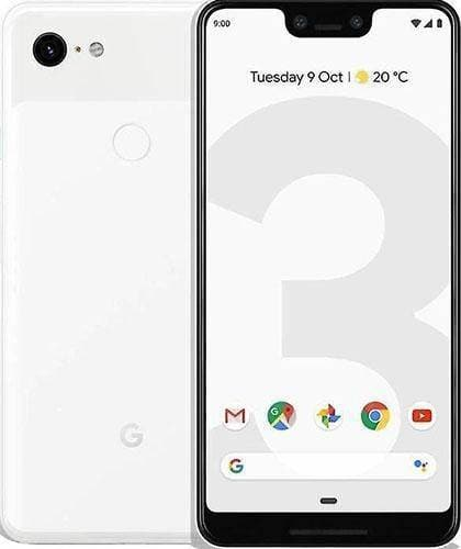 Google Pixel 3 XL -128GB - Clearly White - Very Good