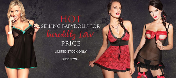 Hot selling babydolls for incredibly low prices. Shop now at  https://soluxe.co.uk/collections/babydolls