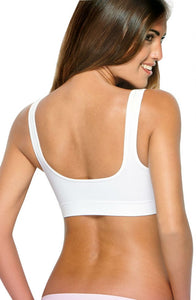 Control Body 110556G Bra Bianco  NEWLY-IMPORTED - So Luxe Lingerie