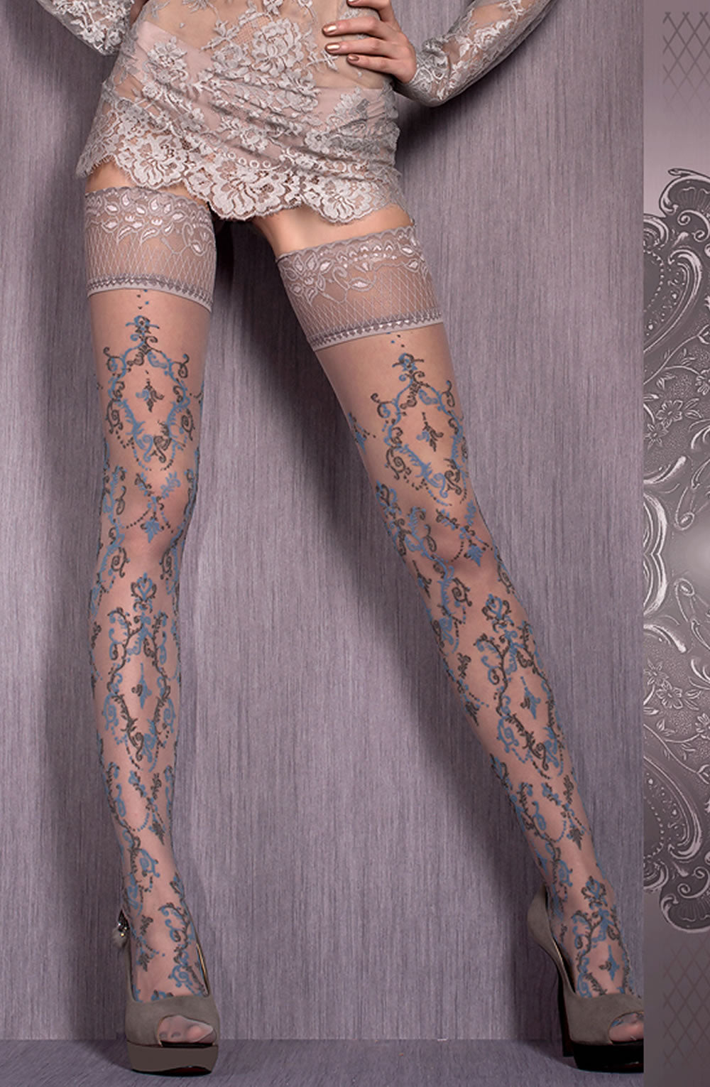 BALLERINA 416 Hold Ups  Ballerina, Hold Ups, Hosiery, NEWLY-IMPORTED - So Luxe Lingerie