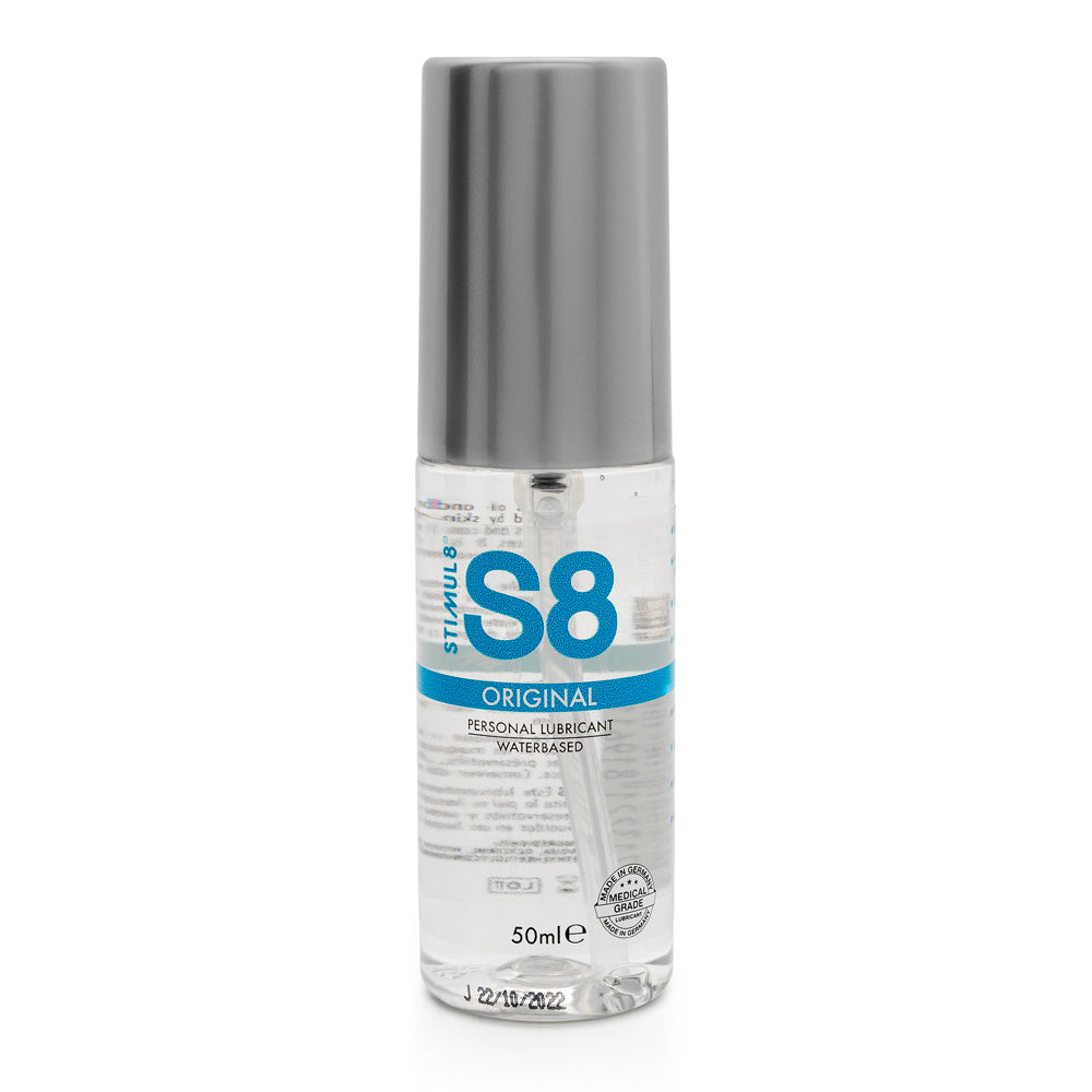 S8 Original Water Based Lube 50ml Relaxation Zone > Lubricants and Oils Both, Lubricants and Oils, NEWLY-IMPORTED - So Luxe Lingerie