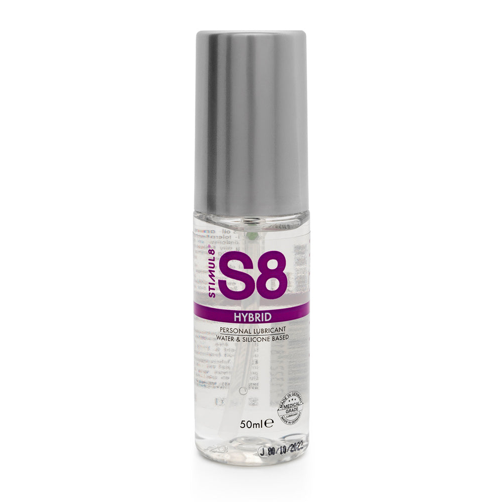 S8 Hybrid Lube 50ml Relaxation Zone > Lubricants and Oils Both, Lubricants and Oils, NEWLY-IMPORTED - So Luxe Lingerie