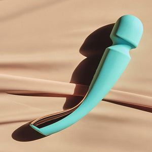 Lelo Smart Wand 2 Large Aqua > Branded Toys > Lelo 13 Inches, Both, Lelo, NEWLY-IMPORTED, Silicone - So Luxe Lingerie