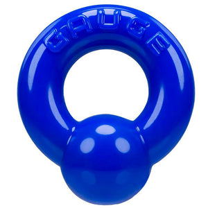 Oxballs Gauge Super Flex Cockring Police Blue Sex Toys > Sex Toys For Men > Love Rings Love Rings, Male, NEWLY-IMPORTED, Skin Safe Rubber - So Luxe Lingerie