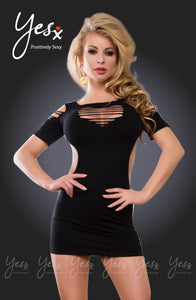YesX Yesx YX311 Dress  Black  - So Luxe