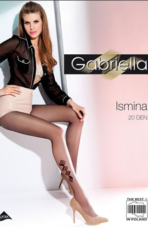 Gabriella Fantasia Isina Nero (Black)2 (S)  Gabriella, Hosiery, NEWLY-IMPORTED, Tights, £1.50 DEALS - So Luxe Lingerie