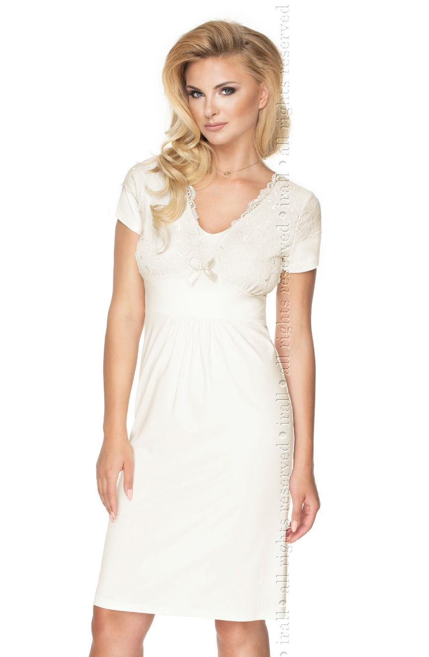 Irall Gia  Nightdress  Brands, Bridal, Irall, NEWLY-IMPORTED, Nightdresses, Nightwear, Plus Sizes - So Luxe Lingerie