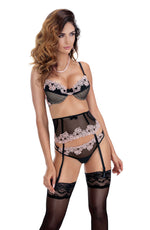 Load image into Gallery viewer, Roza Nefer  Suspender Belt  Brands, Everyday, Hosiery, NEWLY-IMPORTED, Roza, Suspender Belts - So Luxe Lingerie