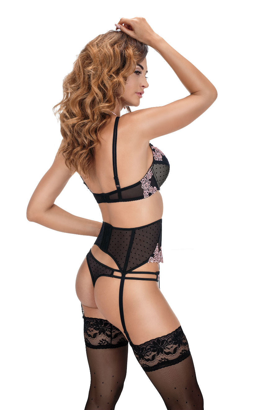Roza Nefer  Suspender Belt  Brands, Everyday, Hosiery, NEWLY-IMPORTED, Roza, Suspender Belts - So Luxe Lingerie