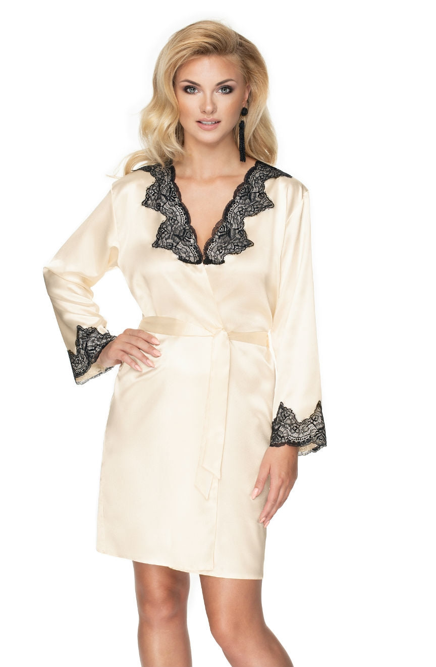 Irall Juniper  Dressing Gown  Bedroom Wear, Brands, Bridal, Dressing Gowns, Irall, NEWLY-IMPORTED, Robes - So Luxe Lingerie