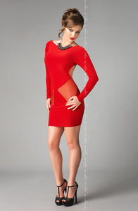e Seduce e Seduce Sophie  Red3  Dress, Dresses, Me Seduce, NEWLY-IMPORTED, £12.99 DEALS - So Luxe Lingerie