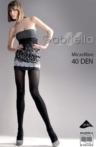 Gabriella Classic icrofibre  Tights Nero (Black  0.99p  DEALS, Gabriella, Hosiery, NEWLY-IMPORTED, Tights - So Luxe Lingerie