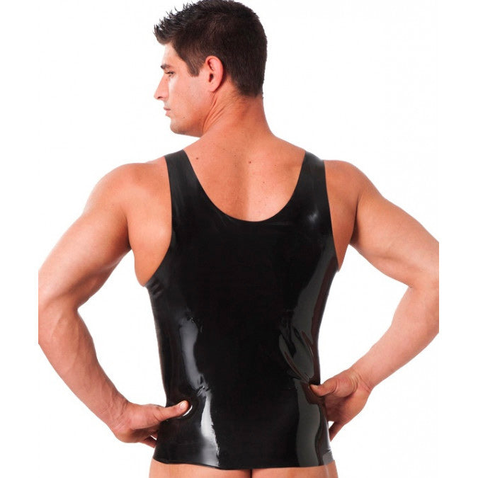 Rubber Secrets Vest Clothes > Latex > Male Male, N/A, NEWLY-IMPORTED, Rubber - So Luxe Lingerie