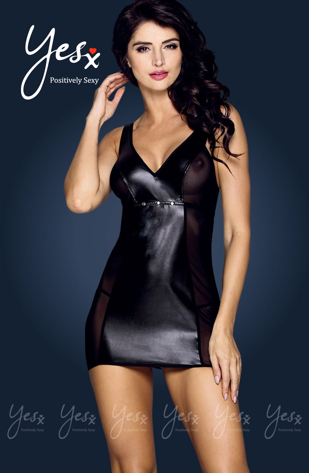 Yesx YX187 2pc Dress & Thong  Brands, Clubwear, Dresses, NEWLY-IMPORTED, Yesx - So Luxe Lingerie