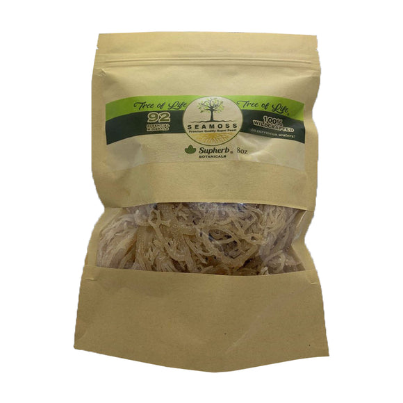 Superb Life Raw Sea Moss (Chondrus Crispus) 8oz Wholesale Sea moss - SupherbBotanicals