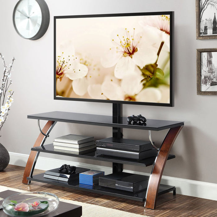 "Whalen Payton 3-in-1 Flat Panel TV Stand for TVs up to 65"", Multiple Finishes Available"