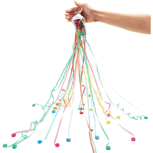 10-Pack Party Throw Streamers, Hand Toss No Mass Colorful Confetti Poppers for Birthday, Wedding, Graduation, New Years Eve, Party Favors Supplies df811920-5e9c-4c54-b0cf-e9ddabadaca9
