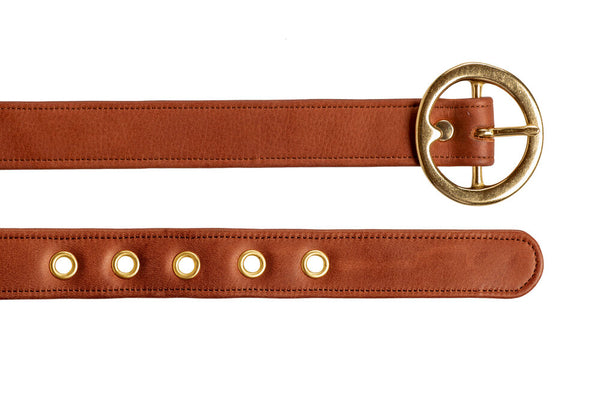 Signature Leather Jean Belt (Pre-Sale)