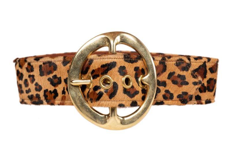Leopard Signature Belt