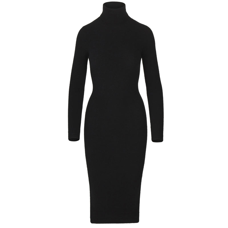 ALPACA KNITTED SWEATER DRESS (PRE-ORDER)