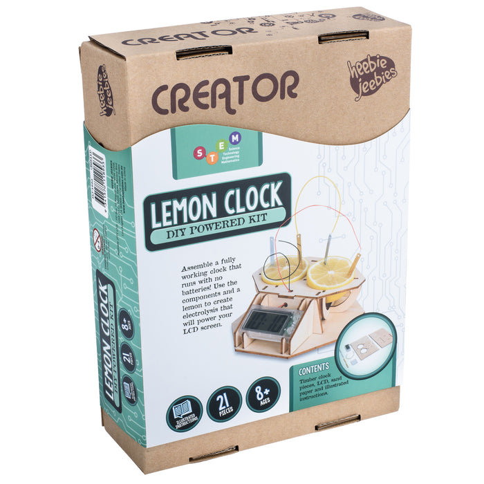 Creator | Wood Kit | Lemon Clock