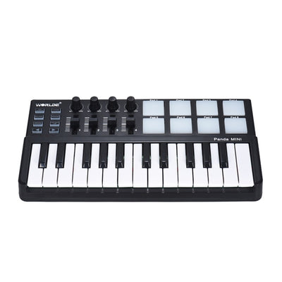 *Club Special* WORLDE Panda MINI USB MIDI Keyboard with 8 Backlit Drum Pads (works great with SoundTrap by Spotify) - MegaStartNation