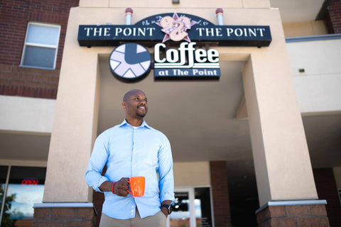COFFEE AT THE POINT - Black owned coffee shop