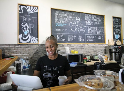 detroitsip- black owned coffee shop