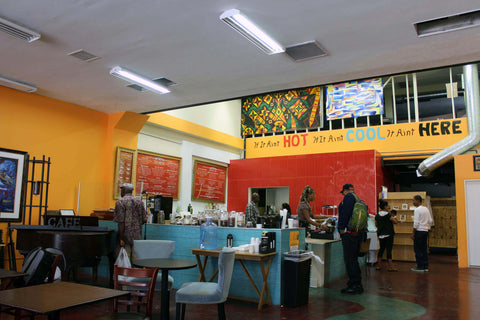 hot and cool coffee - black owned coffee shop