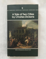 A Tale of Two Cities by Charles Dickens (used paperback)