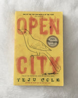 Open City by Teju Cole (used paperback)