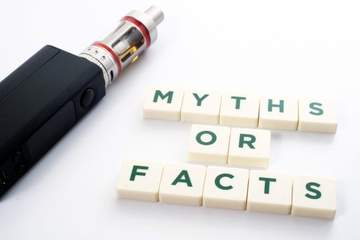 Myth - Vaping products aren't regulated, and we don't know what's in them.