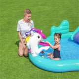 Kuselle Inflatable Ocean Ball Pool Children's Paddling Pool Unicorn Swimming Pool