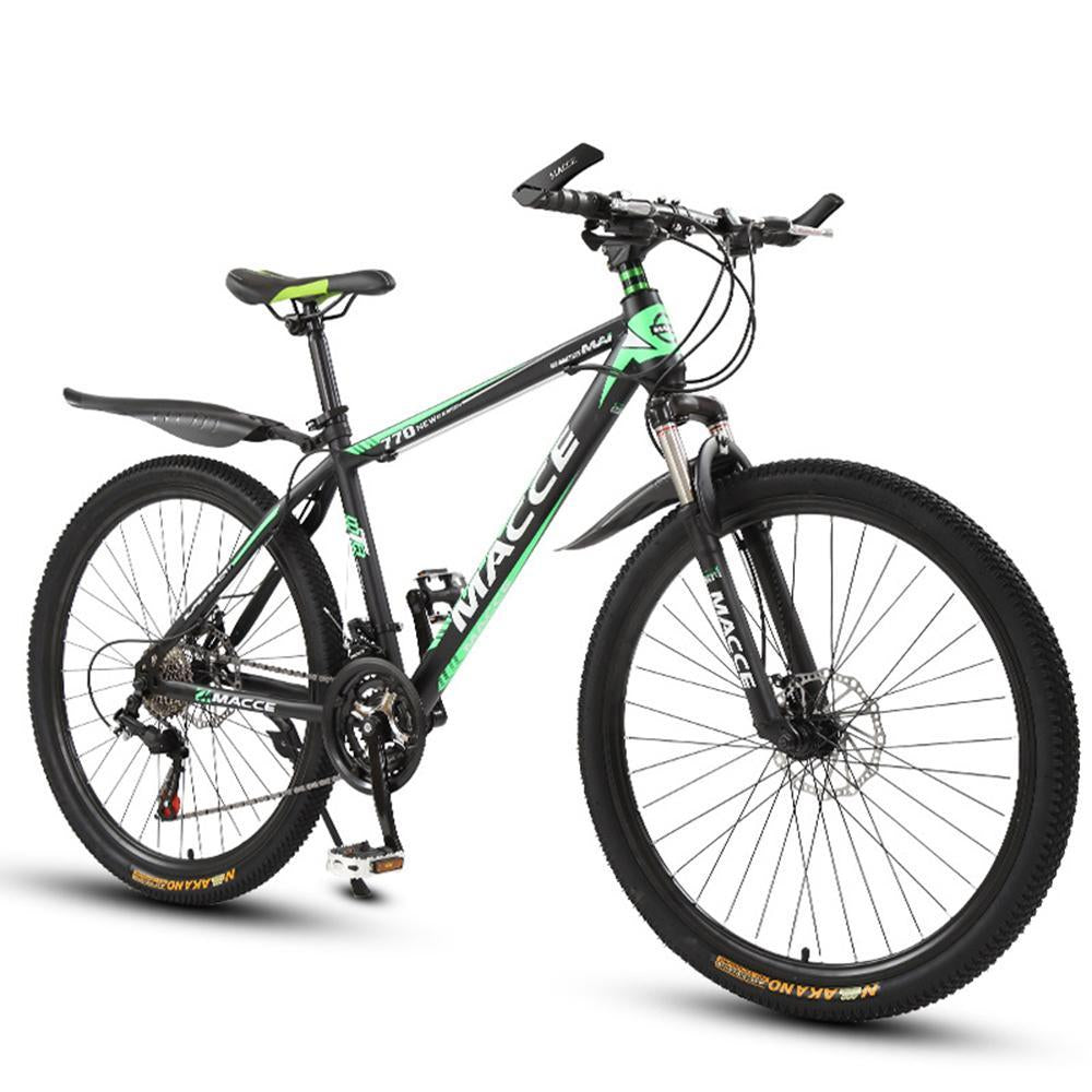 Kuselle Mens Mountain Bike 26-inch Frame 21-27 Speed with Disc Brakes Bike