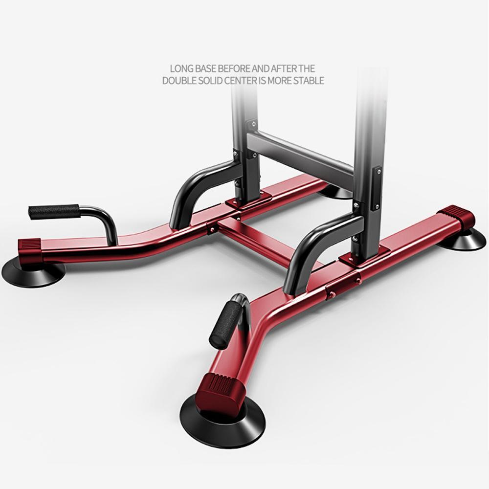 Kuselle Power Tower Pull Up Dip Station for Home Gym Adjustable Height Strength Training Workout Equipment