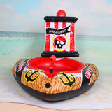 Kuselle Pirate Ship with Action Squirter Swimming Pool Float