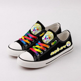 Kuselle Classic Colorful Shoelace Comfy Canvas Sneakers