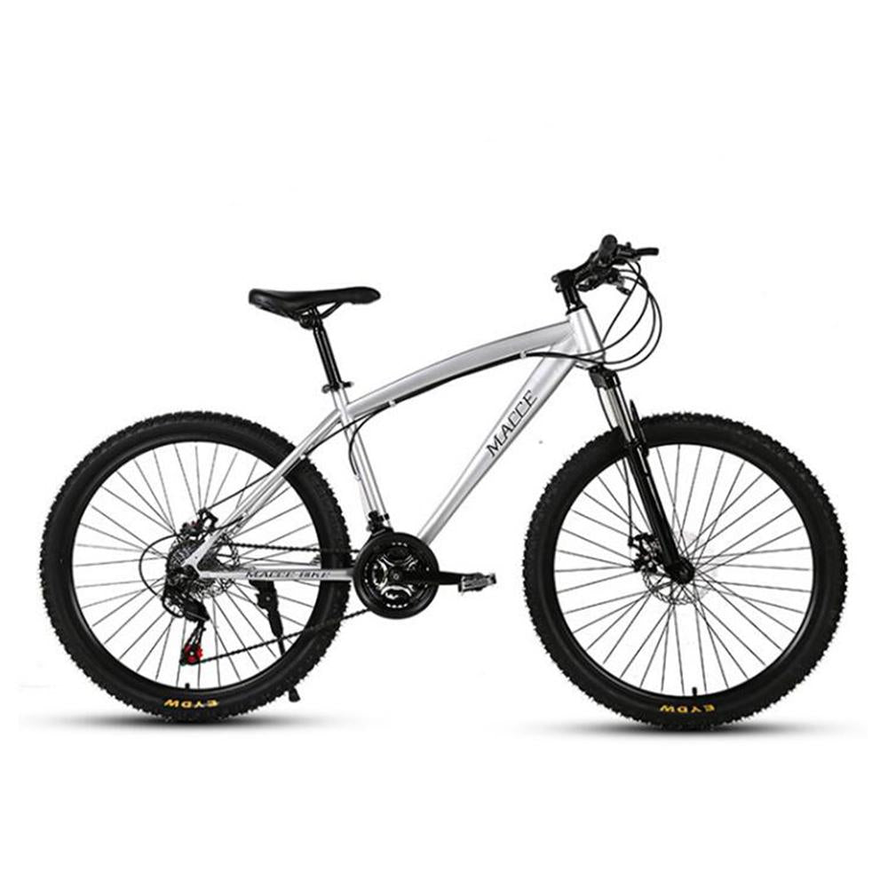Kuselle 24inch Mountain Bike Variable Speed Dual Disc Brake Male and Female Young Students Bicycle