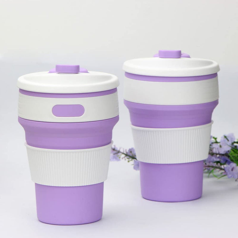 Silicone Cup Purple