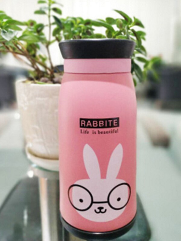 Rabbit Thermos Steel